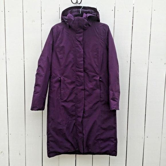 2335797c2 Lands' End Commuter Long Down Filled Winter Coat
